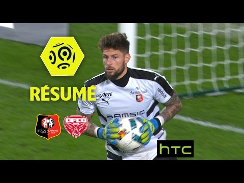 Stade Rennais FC - Dijon FCO (1-1)  - Résumé - (SRFC - DFCO) / 2016-17