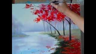 Как нарисовать осенний пейзаж(Получить бесплатный мини-курс: http://kartina-s-nulya.com/wppage/minikurs/ Записаться на мастер-класс к Маргарите Потороча..., 2013-09-02T14:40:43.000Z)