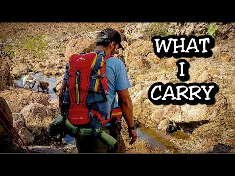 AMAZING budget backpack!!! - Backpacking gear list!!