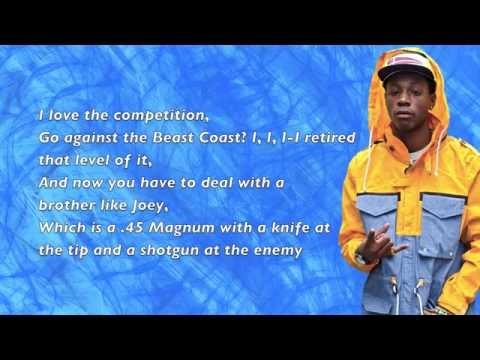 Joey Bada$$ - Killuminati Pt. 2 (Kendrick Response) - Lyrics