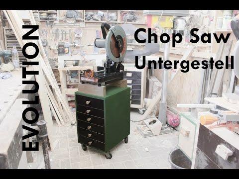 Ein Untergestell für die EVOLUTION  Chop Saw bauen