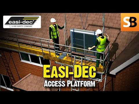 Easi-Dec Access Platforms - Scaffolding Alternative