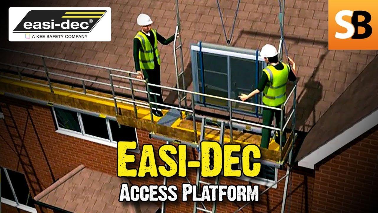 Easi-Dec Access Platforms - Scaffolding Alternative - YouTube