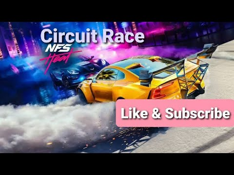 Circuit  Race Need for Speed Heat Game play |