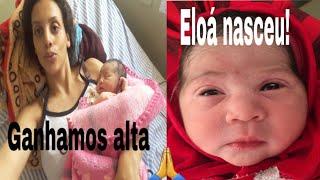 ELOÁ NASCEU/ GANHAMOS ALTA
