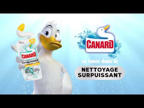 CANARD® EXTRA POWER GEL WC JAVEL MOUSSANT