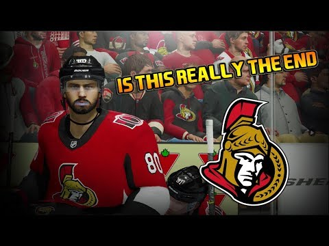 IS THIS REALLY THE END? - ROUND 1 - NHL 18  - Ottawa Senators Be A Pro Ep. 30