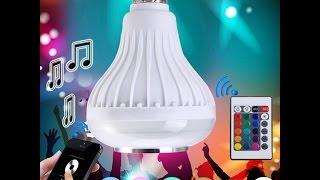 LED Bluetooth Speaker Lightbulb from AliExpress