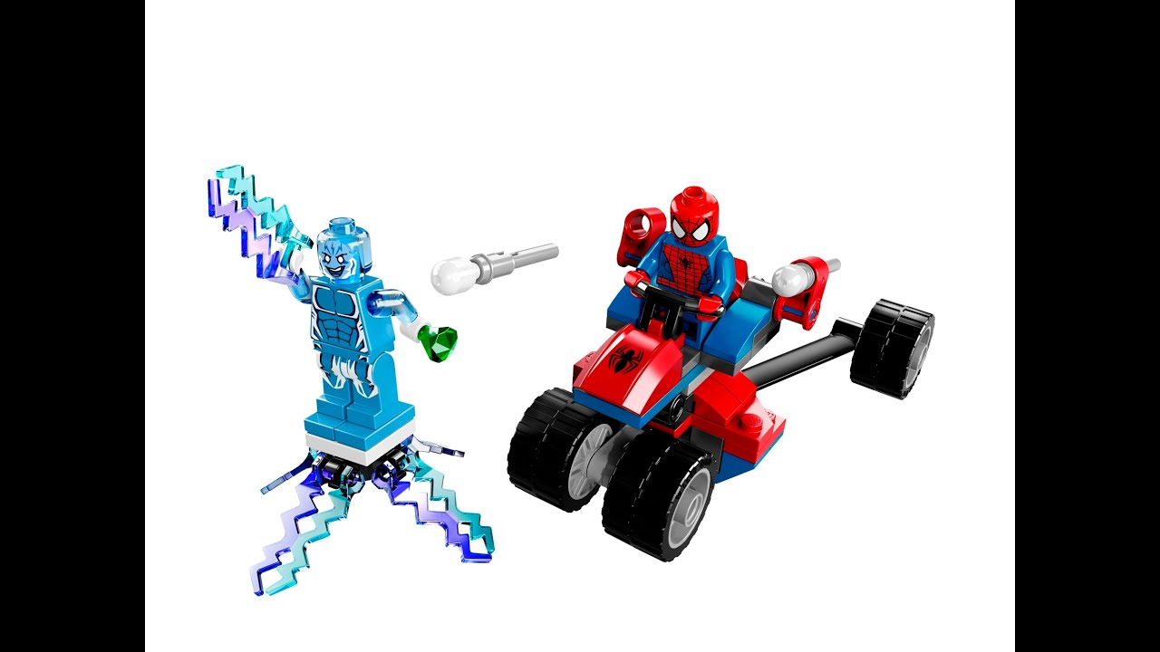 Superb Lego Spiderman Toys, Cartoon For Kids