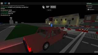 ROBLOX | Adventfield Level Crossing from the car