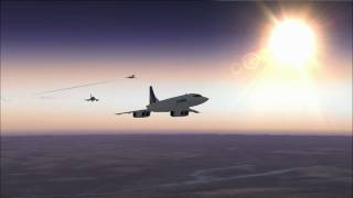 FSX - Concorde vs XB-70 Valkyrie vs mirage 2000