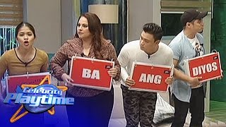 Celebrity Playtime: Song-sunod