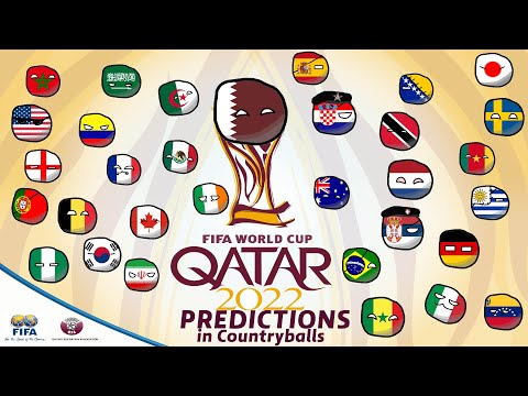 World Cup 2022 Predictions in Countryballs