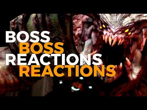 Boss Reactions | Doom 2016 | Cyberdemon