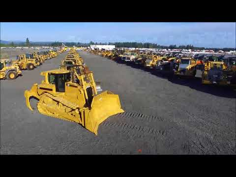Chehalis, WA - June 29, 2018 - unreserved equipment & truck
