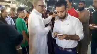 PTI Karachi Imran Ismail & Arif Alvi In Agha Super Market Chand Raat Special