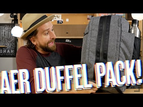 Aer Duffel Pack Review (Gym/Daily/Travel Bag!)