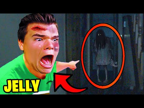 7 YouTubers Who CAUGHT GHOSTS ON LIVE!  (Jelly, PrestonPlayz, DanTDM)