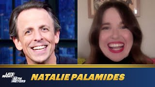 Natalie Palamides Wrestled with Audience Members in Nate - A One Man Show