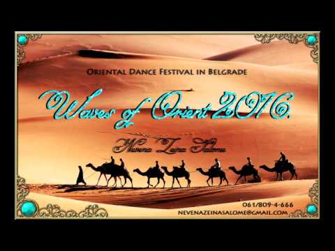 Waves of Orient 2016- Gala Show- Mejance- Zeina Salome team