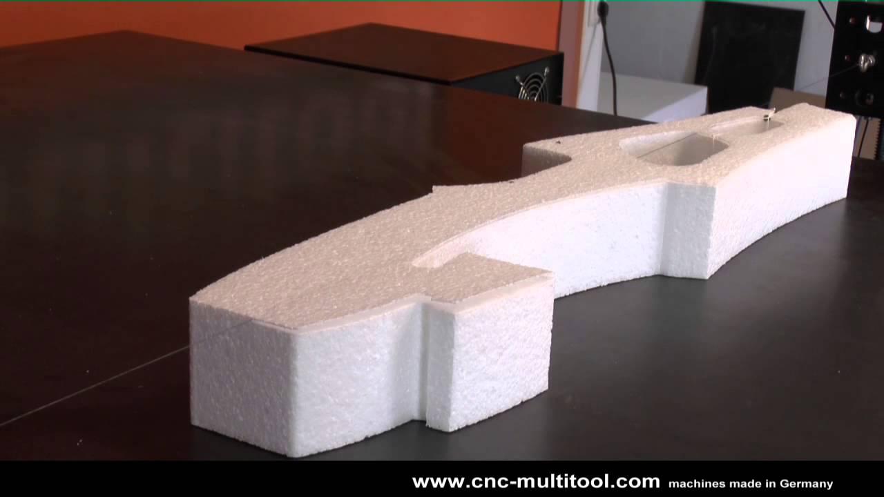 Cnc Hot Wire Foam Cutting Magnum Reloaded Part1