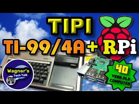 TIPI - Raspberry Pi Connected to a (nearly) 40 Year Old Computer! Gaming, Chat, Telnet+more!
