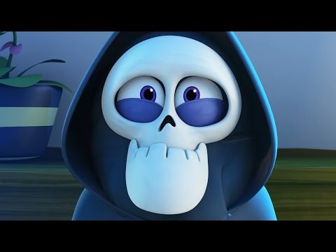 Funny Animated Cartoon | Spookiz Brand New Teacher 스푸키즈 | Videos For Kids