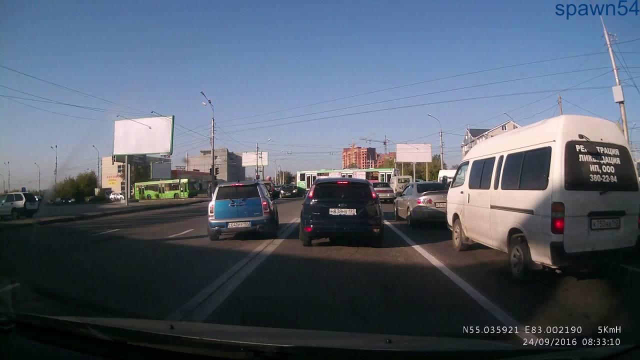 Новосибирск 2016.Авария 21 11 16.