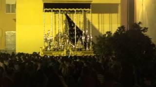 Semana Santa de Málaga 2014. Lunes Santo. Cofradía Dolores del Puente (3)