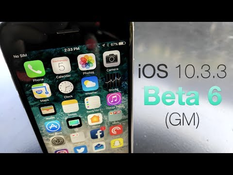 iOS 10.3.3 Beta 6 (GM) - What's New?