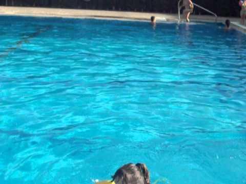 raluka  la piscina  spania malaga