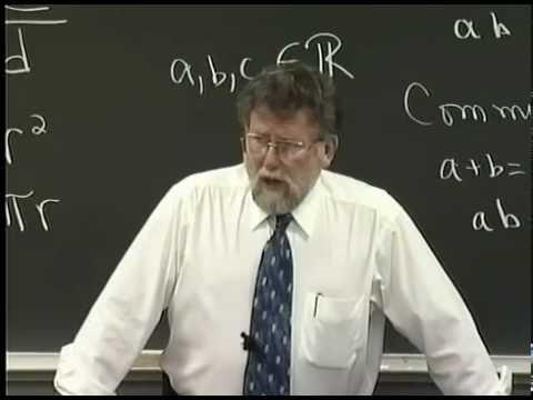 Lecture 01: Beginning Algebra (Math 70)