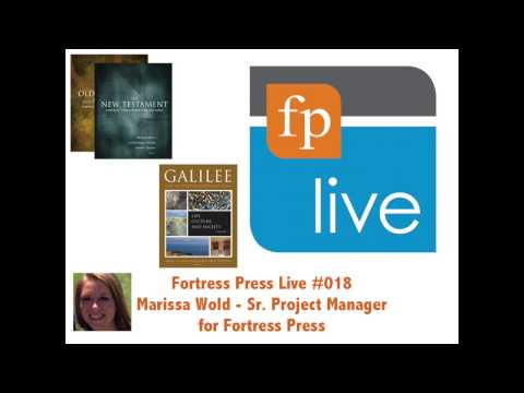 FP Live 018: Marissa Wold - Sr. Project Manager at Fortress Press