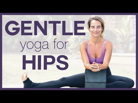 Gentle Yoga For Hips ▲ 25 Minute Class To Release Stress & Tension