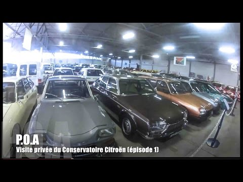 Citroën : visite privée du conservatoire du patrimoine Citroën (1/5)