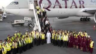 AIR INDIA vs QATAR AIRWAYS (photos)