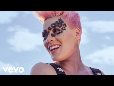 P!nk  Blow Me One Last Kiss Color Version