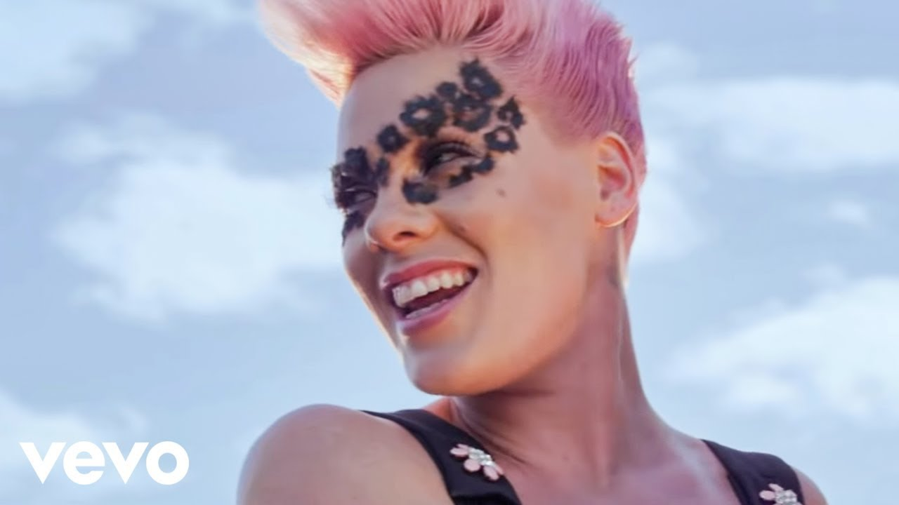 P Nk Blow Me One Last Kiss Official Color Version Youtube
