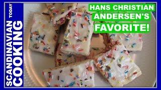 Hindbærsnitter - Hans Christian Andersen's Favorite Danish Raspberry Bars (not A Poptart)