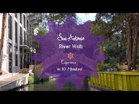 The  River Walk Tour 2020 || River Cruise || San Antonio TX