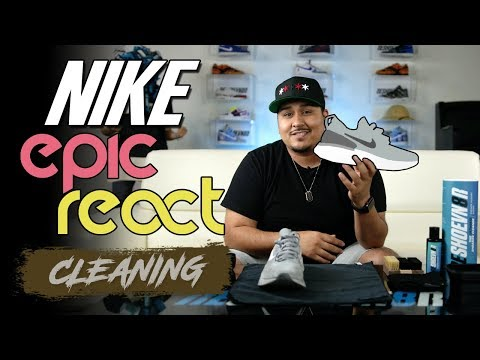 How to Clean NEW Nike Epic React!