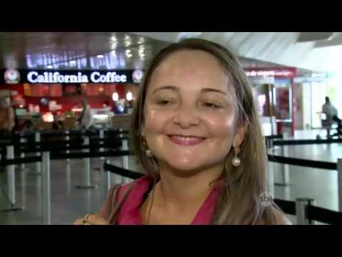 SBT Brasil (20/05/16) Ar-condicionado não funciona há três meses e aeroporto é alvo de reclamações