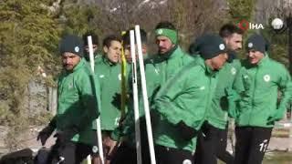 Konyaspor taktik çalıştı I Galatasaray maçı hazırlıkları