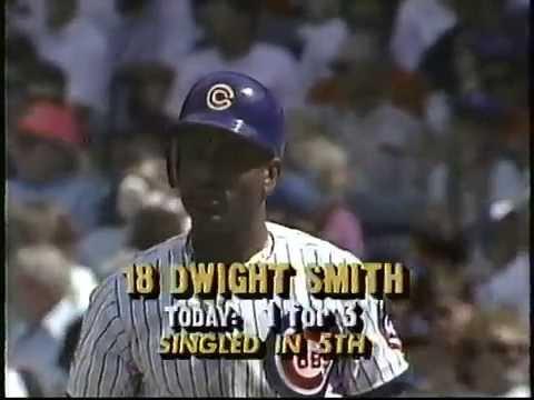 Cubs-Mets, June 12, 1990 (innings 6-7)
