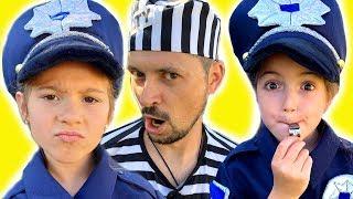 Masha play with Police song