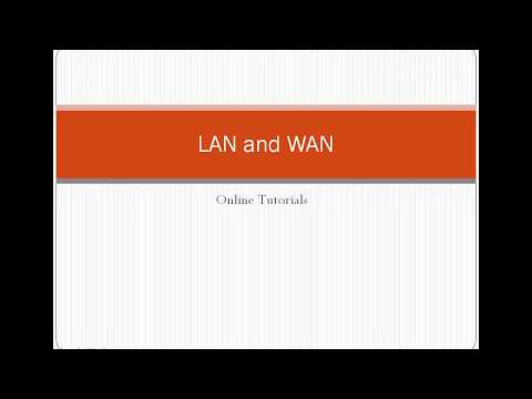 What is LAN and WAN and How do they work? - Basic and simple explanation in Tamil