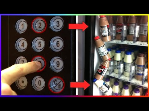 Thumbnail: GET FREE DRINKS FROM ANY VENDING MACHINE! ( Life Hacks )