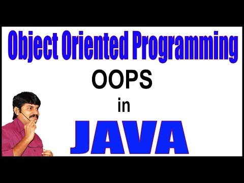 Object Oriented Programming (OOPs) Concepts In Java || By Durga Sir