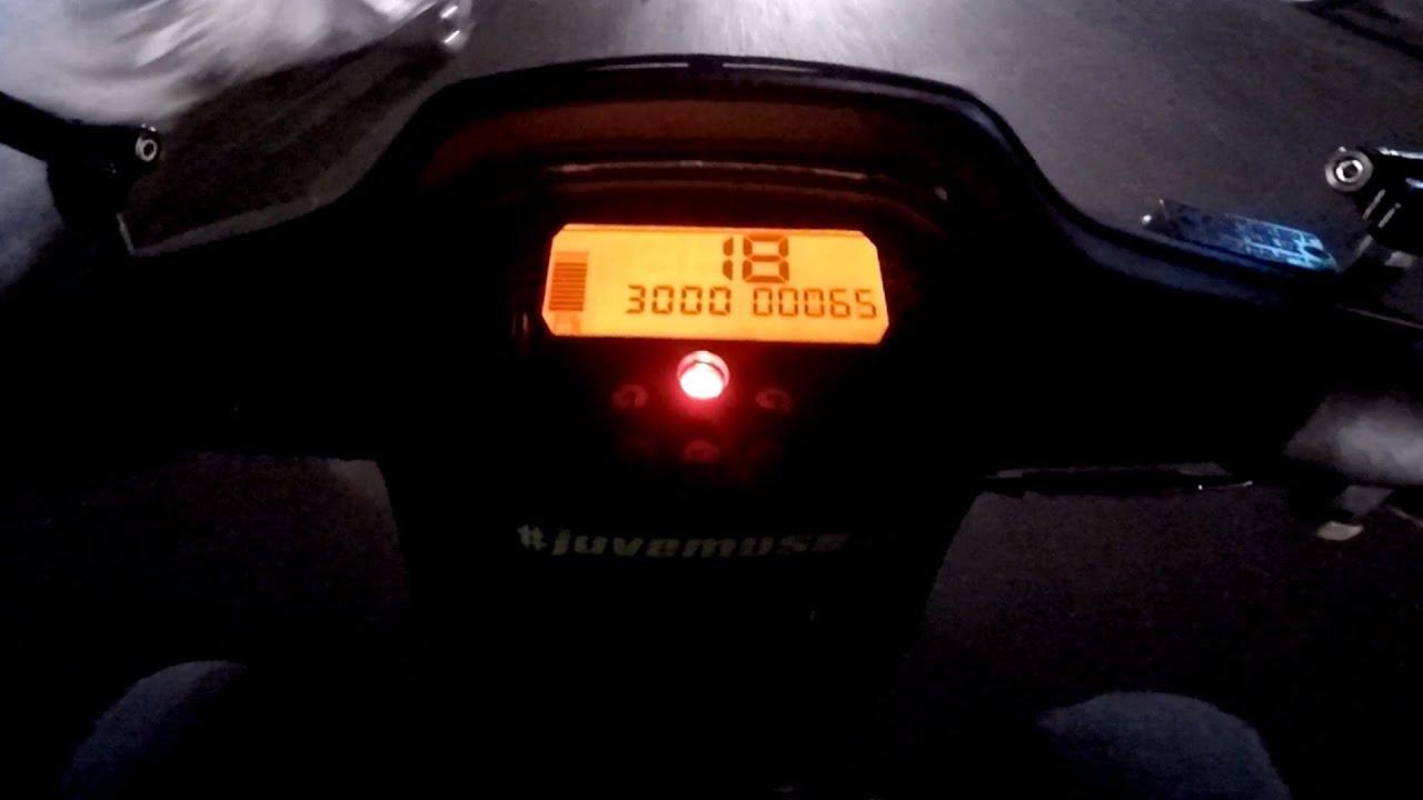 Speedometer Koso Honda Supra X 100