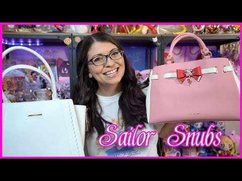 Sailor Moon X Samantha Thavasa Group Purse Haul And Review - Sailor Moon Reviews By Sailor Snubs